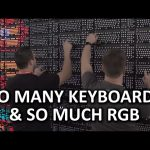 18400 RGB LEDs, 160 keyboards, 30 fps, 1 wall – #GreatWallofLogitechG, PAX East 2016