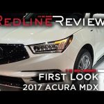 2017 Acura MDX – Redline: First Look – 2016 New York Auto Show