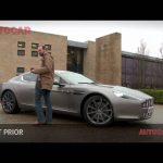 Aston Martin Rapide driven by autocar.co.uk