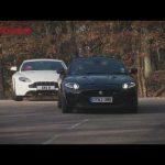 Aston Martin V8 Vantage vs Jaguar XKR-S – autocar.co.uk
