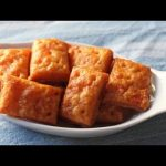 Cheesy Crackers – Homemade Cheese Crackers Recipe