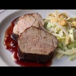 Cocoa Cherry Pork Tenderloin Recipe – Cocoa-Rubbed Pork with Cherry Sauce
