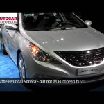 Detroit motor show: Hyundai Sonata by autocar.co.uk