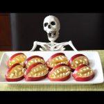 Devil's Dentures! – Healthy & SUPER SCARY Apple Halloween Treats