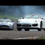 Drop-top duel – Porsche 911 Turbo S versus Aston Martin V12 Vantage S