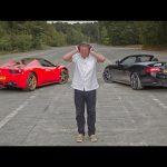 Ferrari 458 Spider vs Jaguar XKR-S: which sounds best?