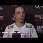 Fight Night Berlin: Joanna Jedrzejczyk Backstage Interview
