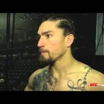 Fight Night Boston: Luke Sanders Backstage Interview