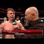Fight Night Boston: Paul Felder Octagon Interview