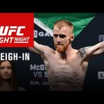 Fight Night Dublin: Official Weigh-in