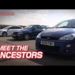 Ford Focus RS meets its ancestors by autocar.co.uk