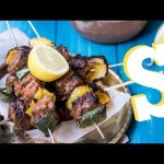 Greek Lamb Kebabs & Babaganoush Recipe – SORTED