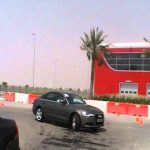 Hasan Kutbi Attending Audi new A6 Test Drive in Abu Dhabi Yas Marina 30