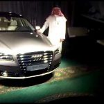 Hasan Kutbi Attending NEW Audi A8 Soft Launch Jeddah 5th -10-2010 Part (2 out 2)