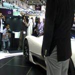 Hasan Kutbi Attending Shelbi SSC Stand -Dubai MotorShow 2011