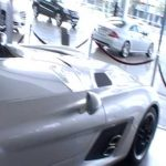 Hasan Kutbi Checking Mercedes Benz SLR McLaren Stirling Moss 2 out of 2 Jeddah Saudi Arabia