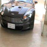 Hasan Kutbi Testing Aston Martin DBS – Jeddah 1