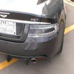 Hasan Kutbi Testing Aston Martin DBS – Jeddah 12