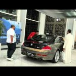 Hasan Kutbi Testing Passion for Performance , The BMW Roadshow 2010 -Jeddah Saudi Arabia -JRW