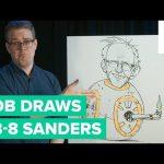 How to Draw Bernie Sanders'  Head on BB-8's Body | Bob Draws