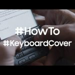 How to use the Keyboard Cover on the Galaxy S6 edge+