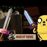 Jake's Sword (Adventure Time) Feat. Smosh – MAN AT ARMS