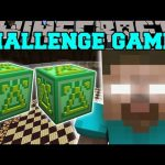 Minecraft: HEROBRINE FIGHT CHALLENGE GAMES – Lucky Block Mod – Modded Mini-Game