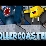 Minecraft – TIME TRAVELLERS! – ROLLERCOASTER! #25 W/Stampy & Ash!