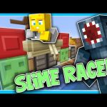 Minecraft – TIME TRAVELLERS! – SLIME RACER! #28 W/Stampy & Ash!