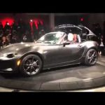 New York motor show video blog – new Mazda MX-5 RF roof opening