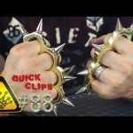"QC#88 – Bullet Shell ""Brass Knuckles"""