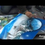 Spray Painting – 10 Minutes Picture of Mountains