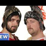 The Gladiator Sweat Challenge – Good Mythical Crew Ep. 16