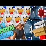 TOO MANY CHICKENS! – Minecraft 1.9 Hardcore Survival Island [9]