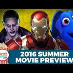 Top 10 Summer Movies 2016!