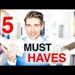 Top 5 Wardrobe Essentials for Men
