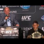 UFC 188: Post-fight Press Conference Highlights