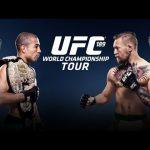UFC 189: World Tour Press Conference
