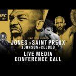 UFC 197: Jones vs. Saint Preux Media Conference Call