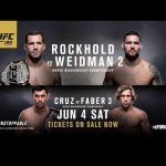 UFC 199: Rockhold vs Weidman – Tickets on Sale Now
