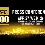 UFC 200 Press Conference: Tickets On-Sale