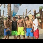 Vlog 44 : Yas waterworld abu dhabi !! فلوق ٤٤ : جزيرة ياس المائية