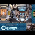 Warped Gaming – Portal 2 Alcohol Science Part 1