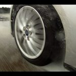 Winter tyres tested in the wet video feature