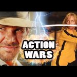 BEATRIX KIDDO (THE BRIDE) vs INDIANA JONES – Action Hero Wars