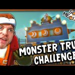 Scrap Mechanic! – MONSTER TRUCK CHALLENGE! Vs AshDubh – [#10] | Gameplay |
