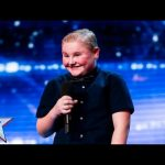 George Kavanagh is David's ray of sunshine | Week 1 Auditions | Britain's Got Talent 2016