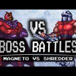 Magneto vs. Shredder – Boss Battles