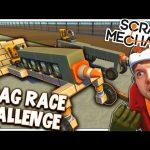 Scrap Mechanic! – DRAG RACE CHALLENGE! Vs AshDubh – [#6] | Gameplay |