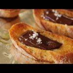 Chocolate Sea Salt Crostini – Savory Chocolate Appetizer – Holiday Entertaining